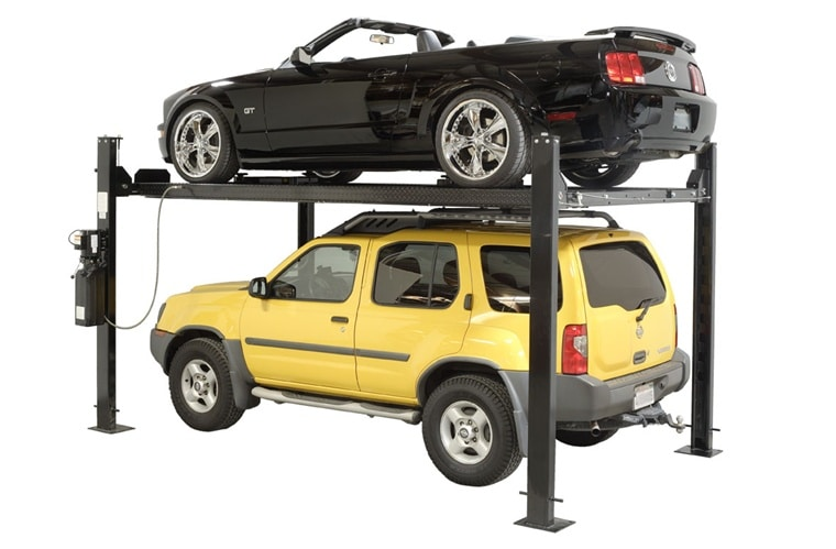 Drive Up Lifts To Raise Car