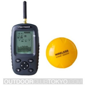 Venterior Portable Fish Finder Rechargeable & Wireless Sonar Sensor