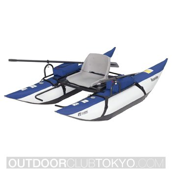 Classic Accessories Roanoke Inflatable Pontoon Boat