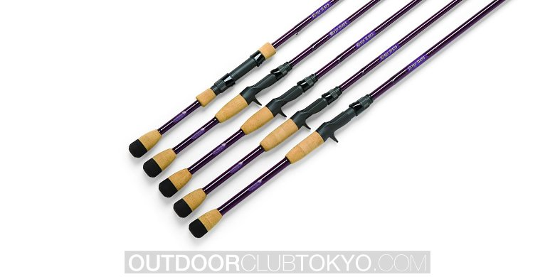 St Croix Mojo Bass Spinning Rods