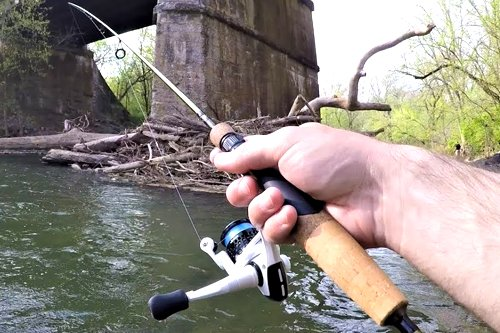 Trout Fishing With Spinner or PowerBait