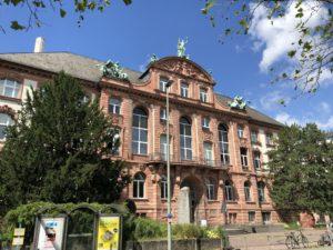 Museums Eingang des Senckenberg Museum