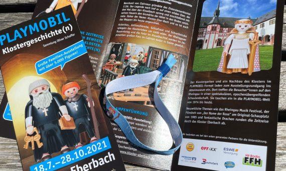 Playmobil Sonderausstellung Kloster Eberbach Beitragsbild