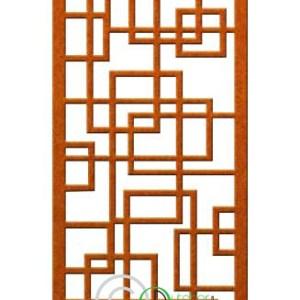 Random square pattern steel screen New Zealand NZ Decor