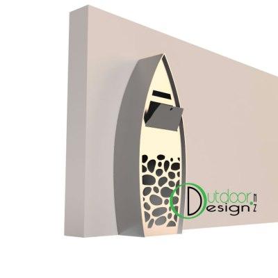 corten letterbox new zealand