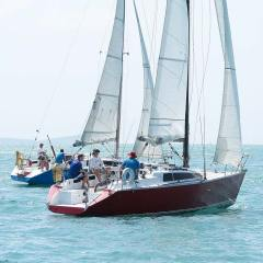 Farr sisters racing charter yacht Sail in Asia