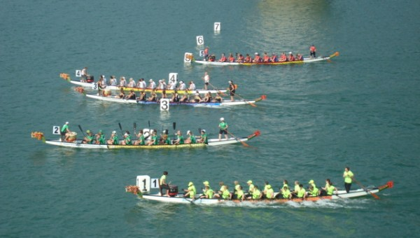 Dragon Boat racing in Thailand