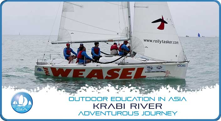 Coastal sailing with SailinAsia on Krabi River Adventurous Journey