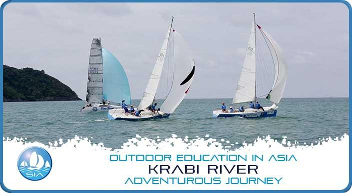Coastal sailing on Krabi River Adventurous Journey