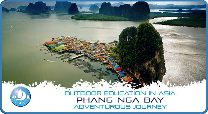 The floating village of Phang Nga Bay Adventurous Journey