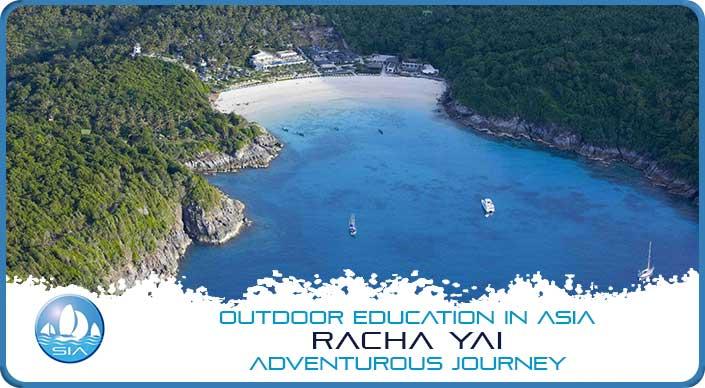 Tropical Island Bay on Racha Yai Adventurous Journey