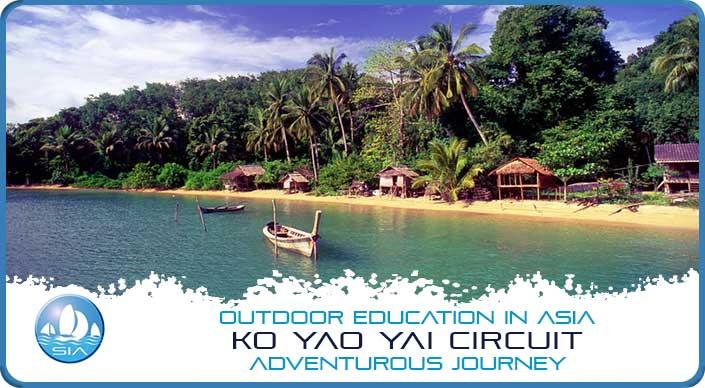 Tropical paradise on Koh Yao Yai Adventurous Journey