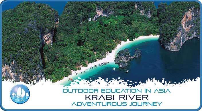 Amazing beaches on Krabi River Adventurous Journey
