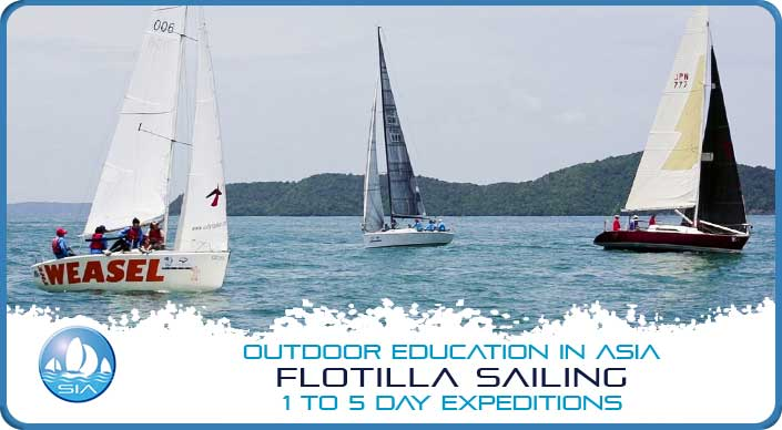 Flotilla sailing 1 to 5 day expeditions