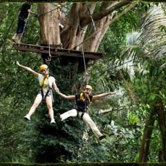 Flying Hanuman Adventures in Thailand