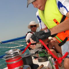 International Crew Learn to sail in Thailand