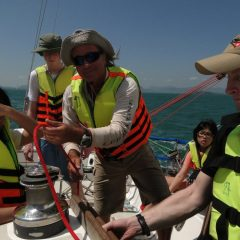 Keelboat Crew Learn to Sail in Thailand