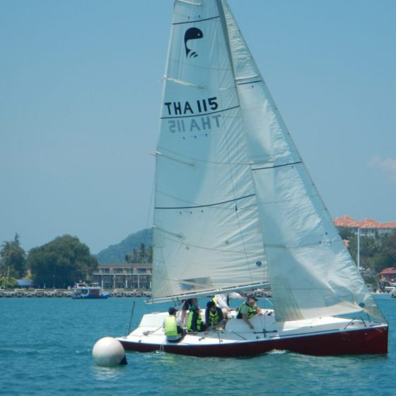 Keelboat Skipper Learn to Sail in Thailand