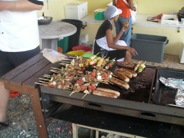 fab food at the BBQ