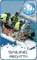 Sailing regatta with Sail in Asia