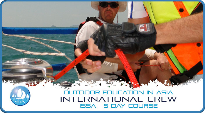 International crew ISSA 5 day course
