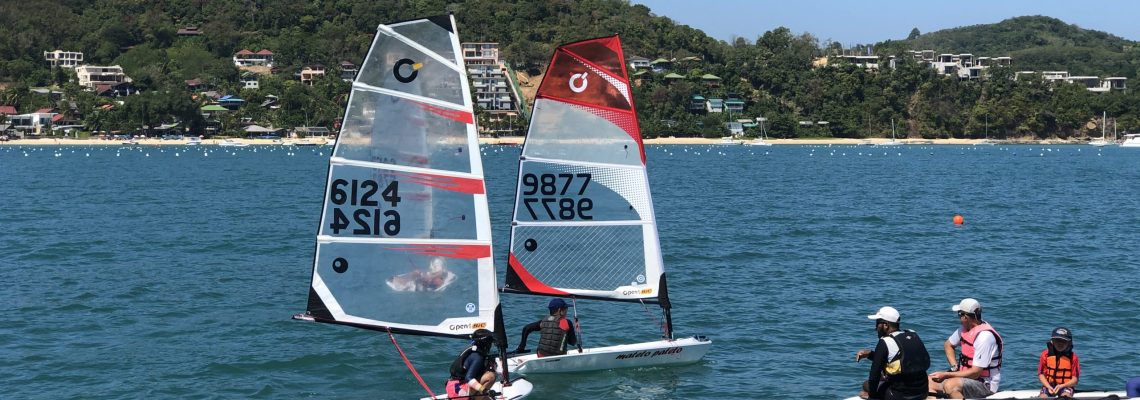 Dinghy sailing for kids