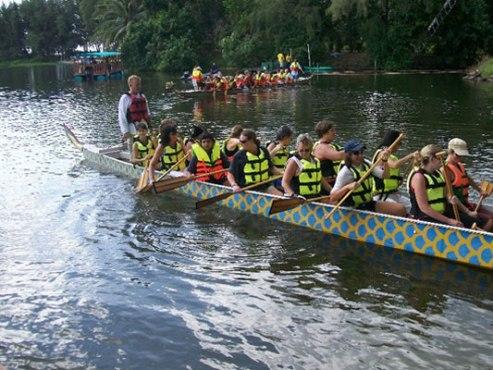 Don't stop paddling