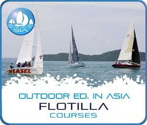 Flotilla courses with Sail in Asia