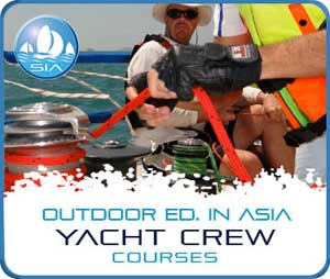 International crew courses with Sail in Asia