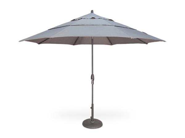 2222eddbbd17 Patio Umbrella Store. Aluminum Market Umbrellas. Galtech · Treasure Garden