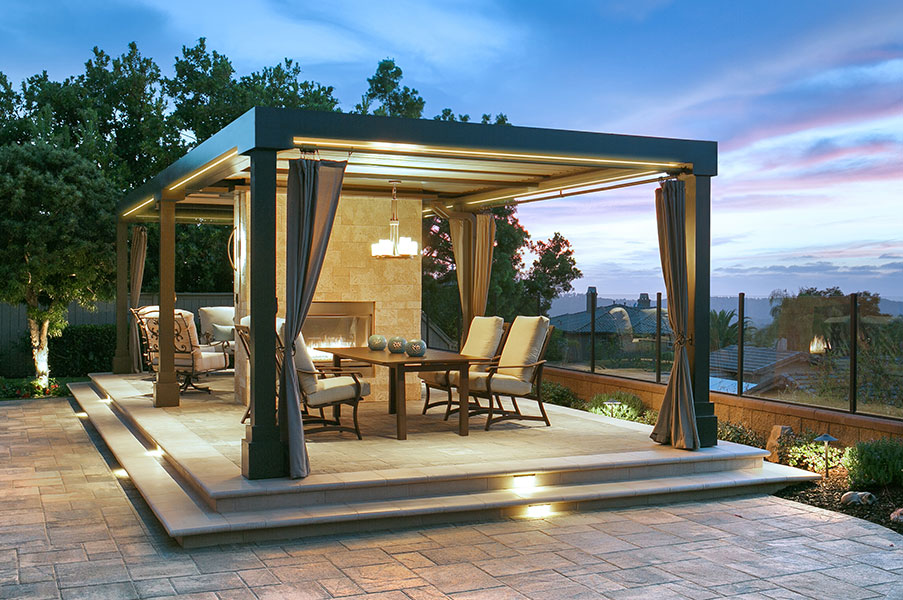 adjustable louvered patio roofing