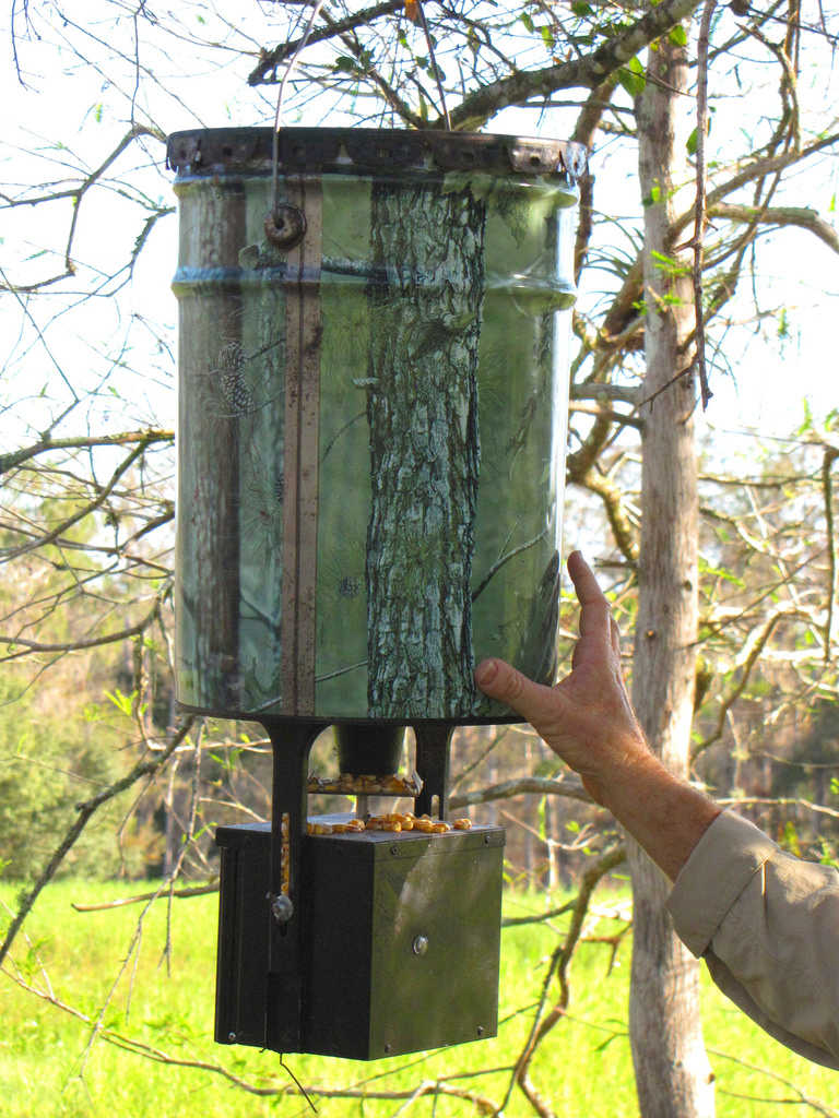 boss refill protein deer buck feeders feeder crush youtube watch cam homemade