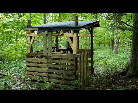 diy how to build a deer blind easy step by step