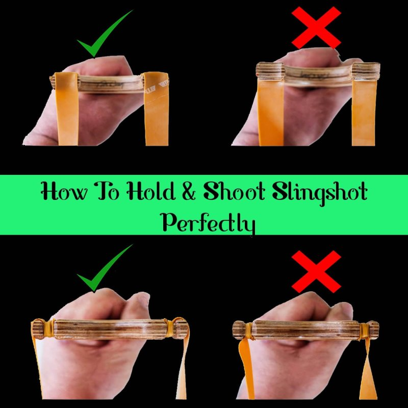 How To shoot a slingshot