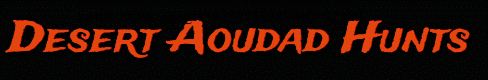 Desert Aoudad Logo