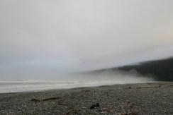 Big Bay on a foggy morning.
