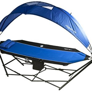 Kijaro All In One Portable Hammock with Detachable 180 Degree Rotating Canopy and Cooler