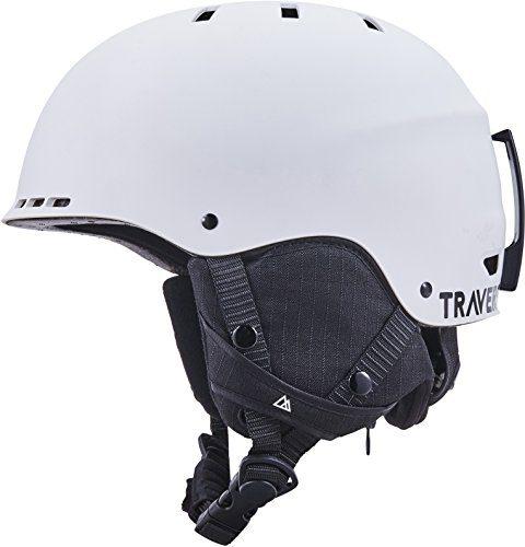 Traverse Vigilis 2-in-1 Convertible Ski & Snowboard/Bike & Skate Helmet with Mini Visor
