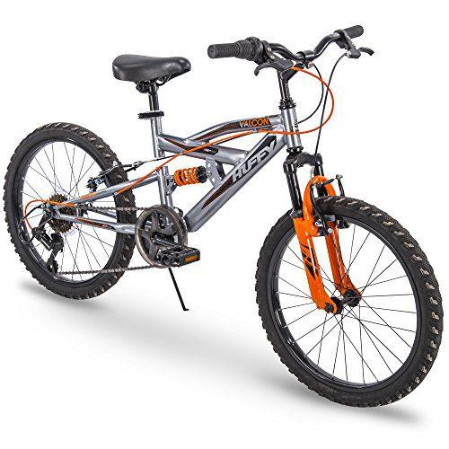 Huffy 20 Valcon Boys 6-Speed Mountain Bike, Charcoal Gray