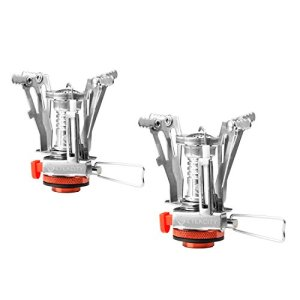 Etekcity Ultralight Portable Outdoor Backpacking Camping Stoves with Piezo Ignition (2pack)