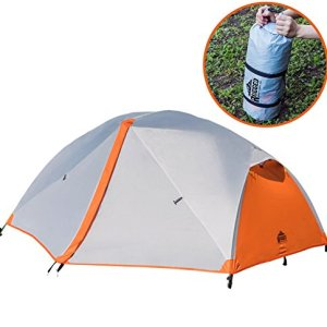Rugged Mountain Co. 2 Person Tent for Camping - Backpacking