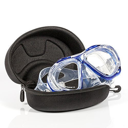 Calypso Adult Diving Mask - Scuba Mask - Freediving - Super Soft Silicone for Ultimate Comfort SUPER SOFT SILICONE - A Soft Silicone Skirt and Strap for the Ultimate Comfortable fit and Water-Tight seal