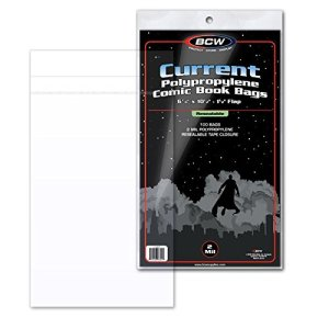Current Re-Sealable Comic Book Bags (100 Count)