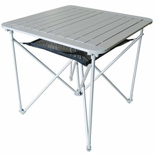 Portable Lightweight Outdoor Folding Table | Camping Aluminum Metal Collapsible Table - Fold Up Table