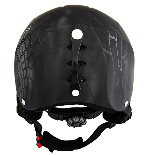Lucky Bums Snow Sport Helmet ALL-AROUND PROTECTION FOR YOUR SPORTING NEEDS - The Lucky Bums Sports Helmet is all that you need in a cap at a moderate value: it's agreeable, sleek, sturdy, and the majority of all, useful. It highlights two defensive layers, a cushioned jaw lash, and goggle circle. Prepared to go appropriate out of the container, locate your size and shading today.