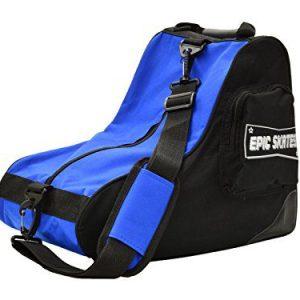 Epic Skates Premium Skate Bag, Black/Blue