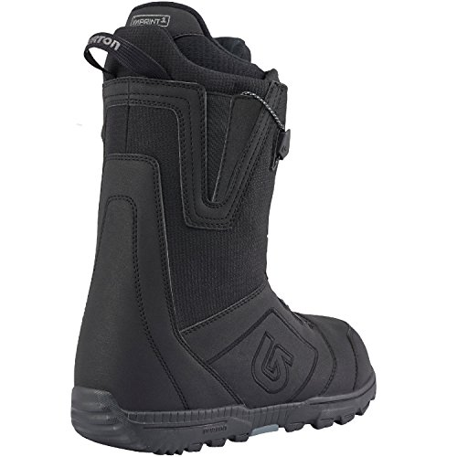 Burton Moto Snowboard Boot - Men's LACING: Speed Zone Lacing System Powered by Burton Exclusive New England Ropes with a Lifetime Warranty