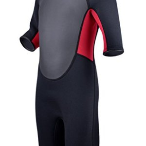 Realon Kids Wetsuit 3mm Premium Neoprene Youth for Girls and Boys Surfing  Swimming XSPAN Full Back. Buy from Amazon d6c7869a9