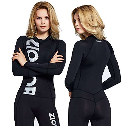 822c549164 Zionor Full Body Sport Rash Guard Dive Skin Suit for Swimming Snorkeling  Diving Surfing with UV