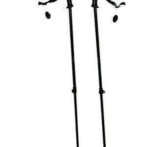 WSD Ski Poles Telescopic Adjustable Adult Downhill/Alpine Pair with Baskets 115 cm - 135 cm New